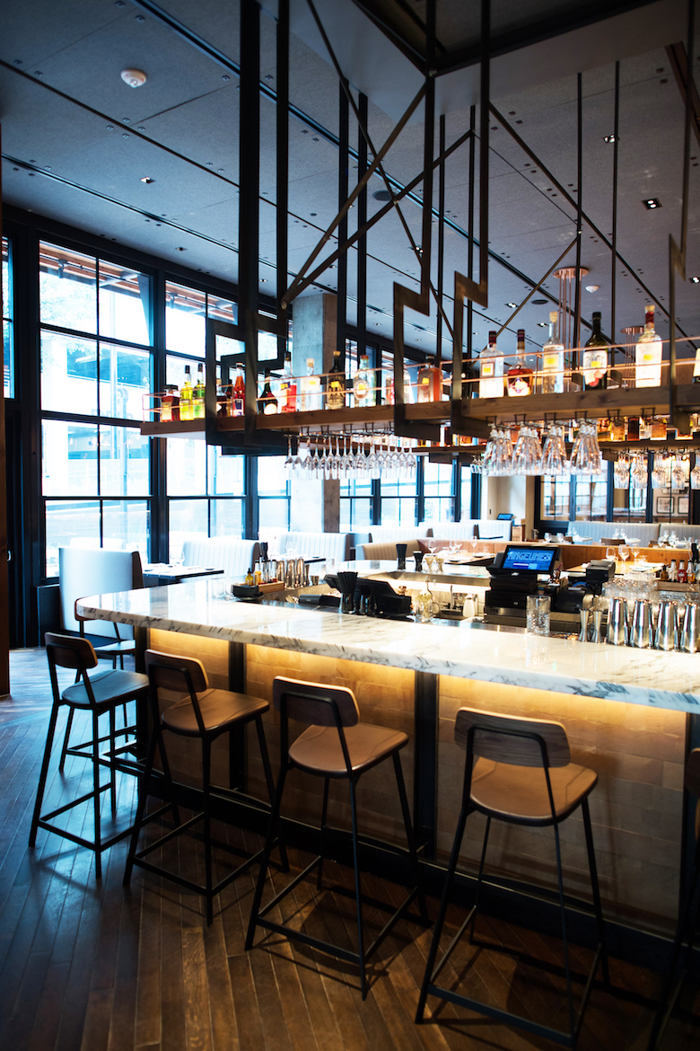 The bar at Angeline's. Image courtesy of the fabulous  QC Exclusive