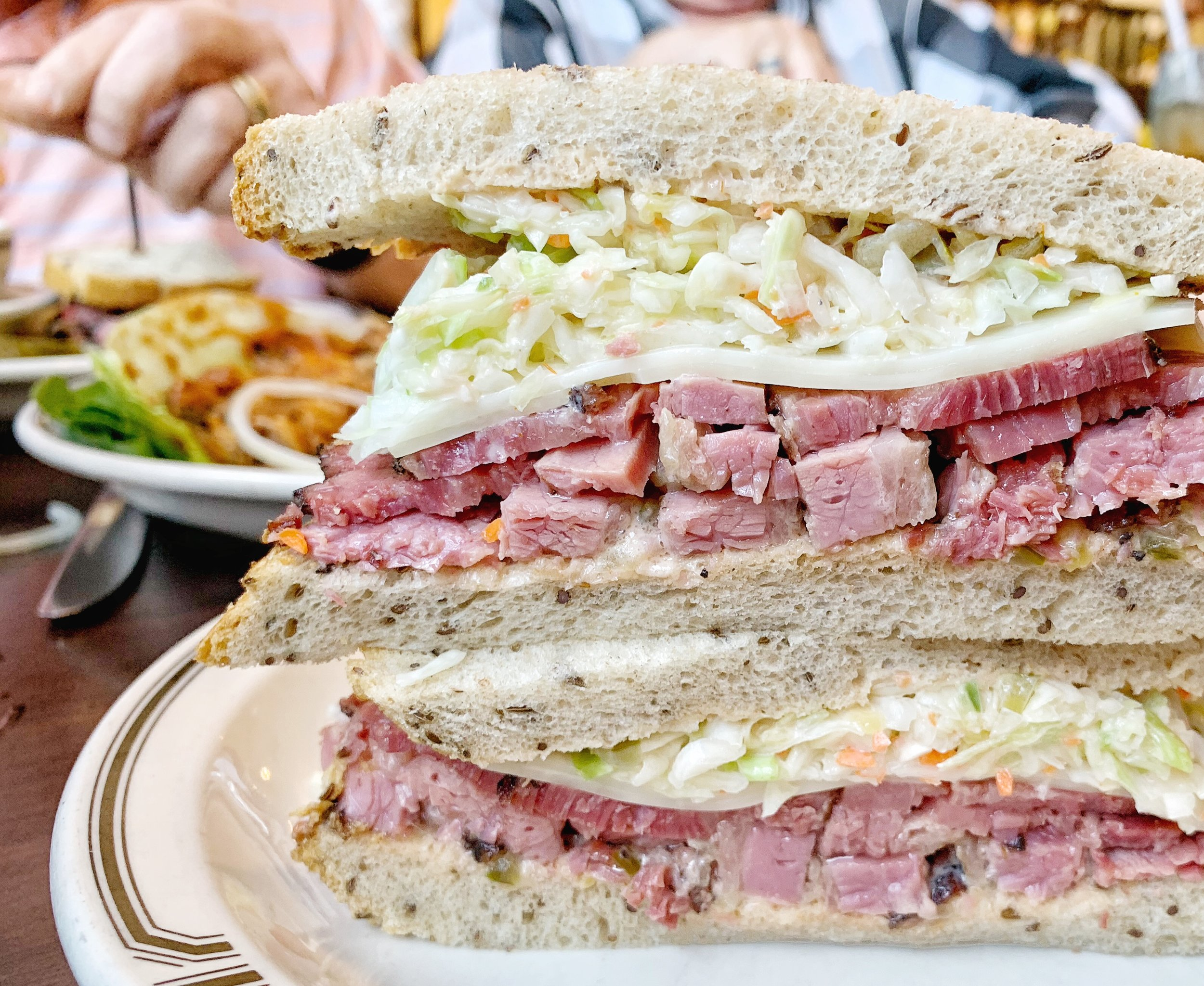 4. #19 - Langers, Los Angeles, CAYou haven't had rye bread until you've had the rye bread at Langers in LA. Put a pastrami reuben in between two slices of the heavenly bread and you've got yourself one of the best sandwiches in the world.