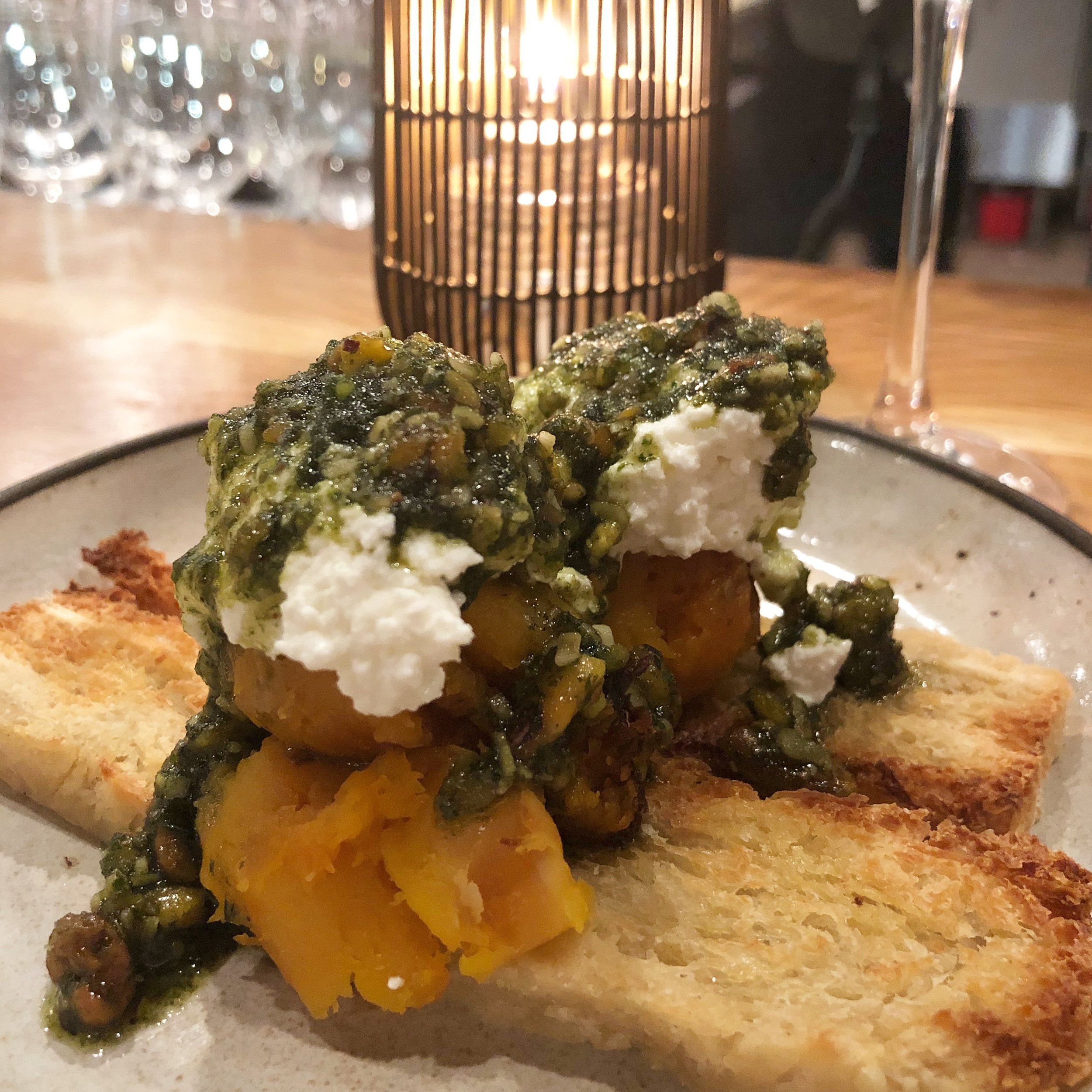 15. Flour Shop - The best pasta in Charlotte is at Flour Shop. Go sit at their gigantic bar and watch the chefs do their thing Their house-made burrata is a must order.