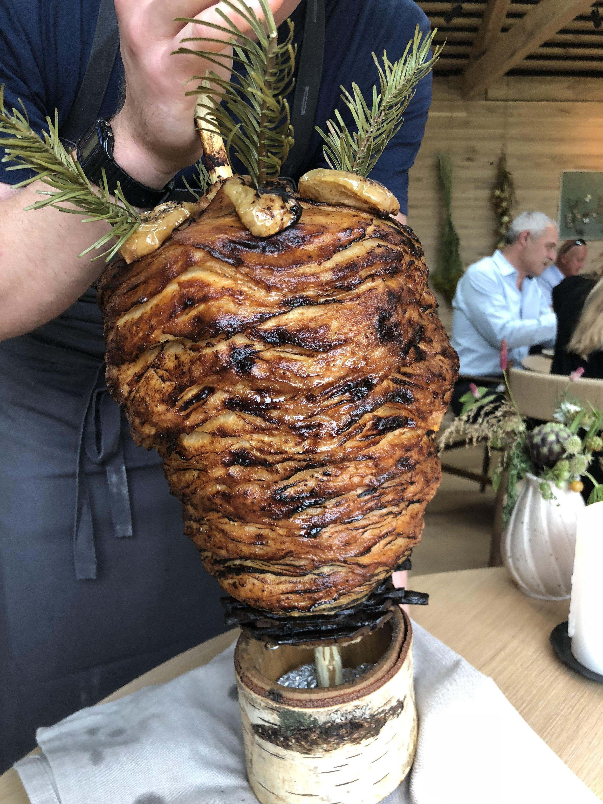 Celeraic shawarma