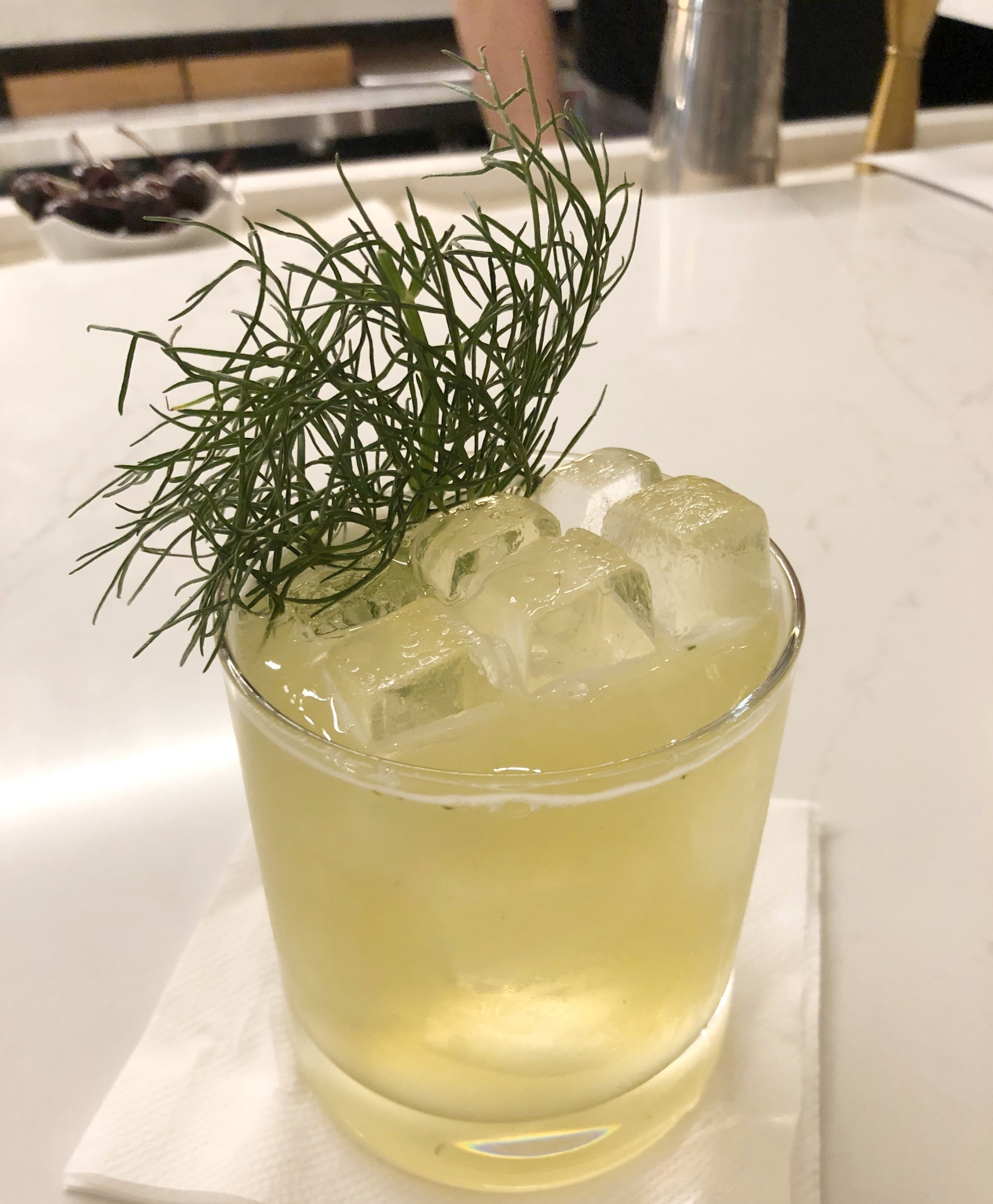Honey Mocktail - Mr. Suggs made Jason this honey mocktail that he hasn't stopped raving about since.