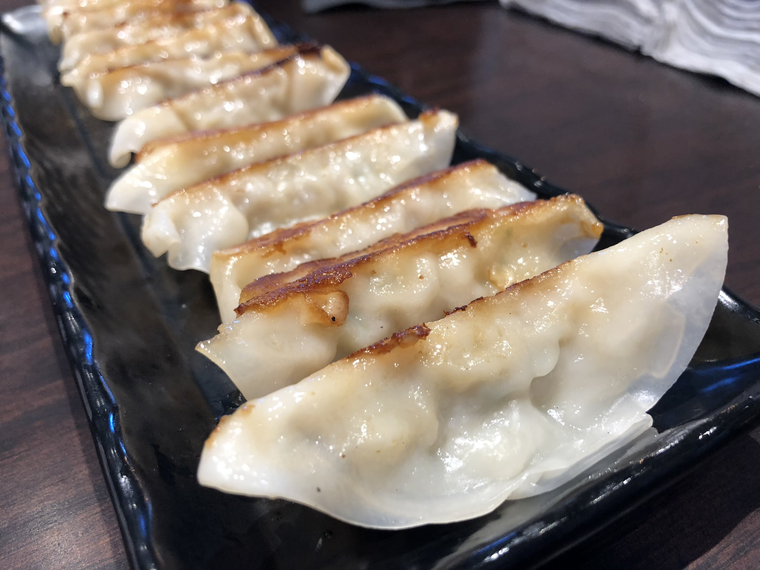 Gyoza - The staple.