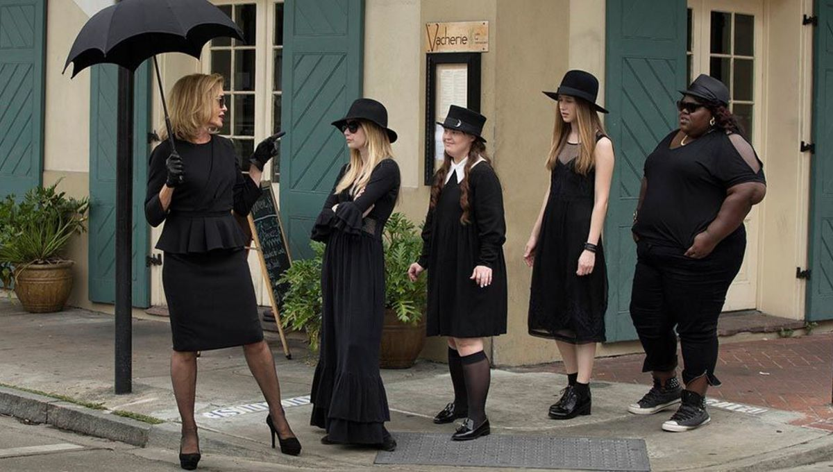 Do you think Harper's Chicken Supremes could be the next SUPREME WITCH in the coven? image credit to  SYFY Wire .