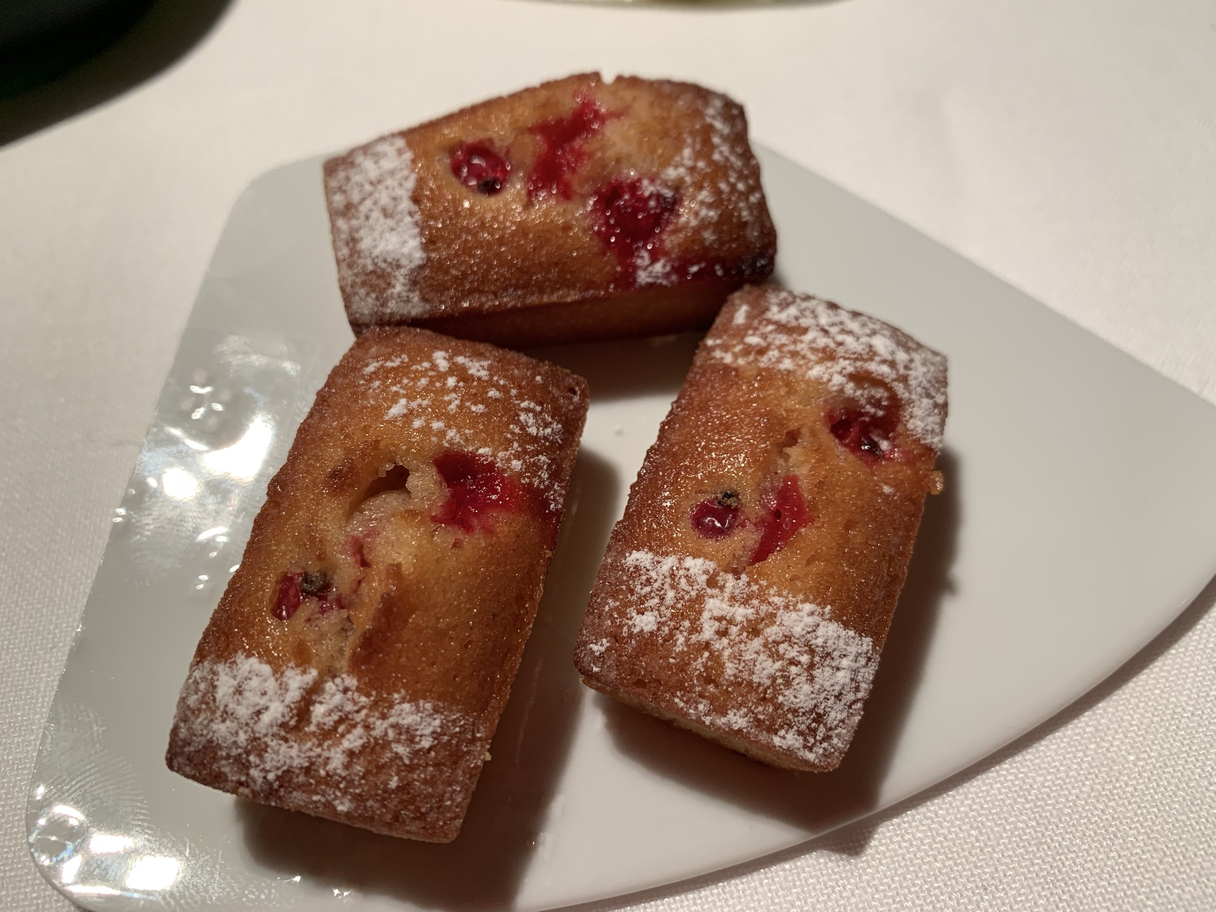 Cranberry pastries