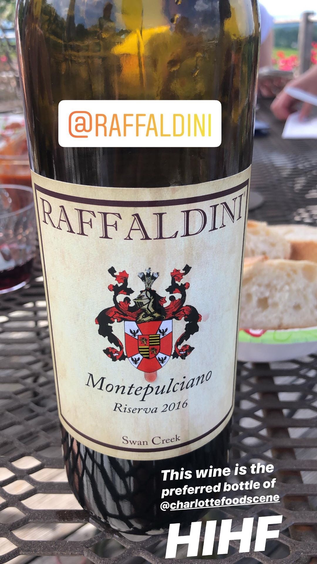 Raffaldini Vineyards - This vineyard was my favorite, and I clearly am not alone, because this place was just packed. The grounds genuinely reminded me of Italy, there was live music, I loved their reds, and we had dessert. What else could a girl want?We tried their famous Montepulciano Riserva (seriously famous – this wine has won awards!) with some meatballs Jessica made, and then paired a Sangiovese with some delicious homemade brownies! Are you seeing the theme here that Jessica is an awesome cook and an excellent wine spirit guide? She was our van DD, chef, and teacher! Who could ask for anything more? We spent a good amount of time here people watching and sitting on their upstairs porch listening to the band. I also bought a bottle of Montepulciano, which ended up being $32 and officially is the fanciest bottle of wine I've ever purchased for myself. Top dollar, baby.