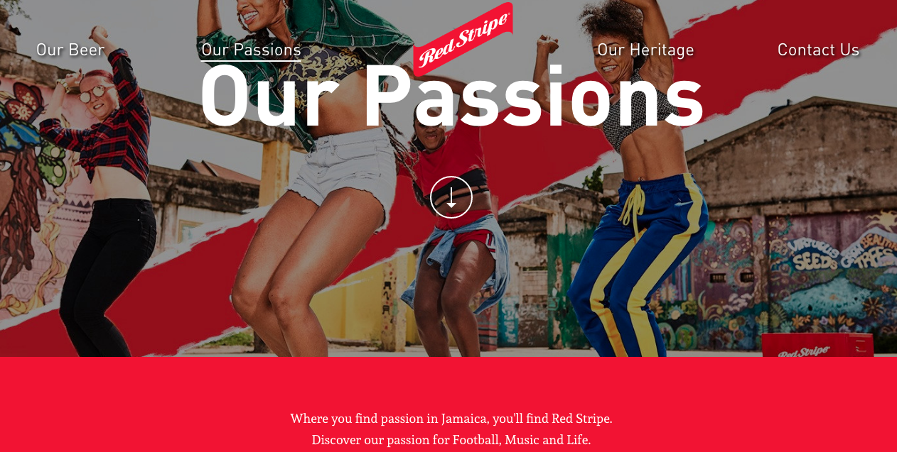 Paint Jamaica featured on   Red Stripe's Official Website