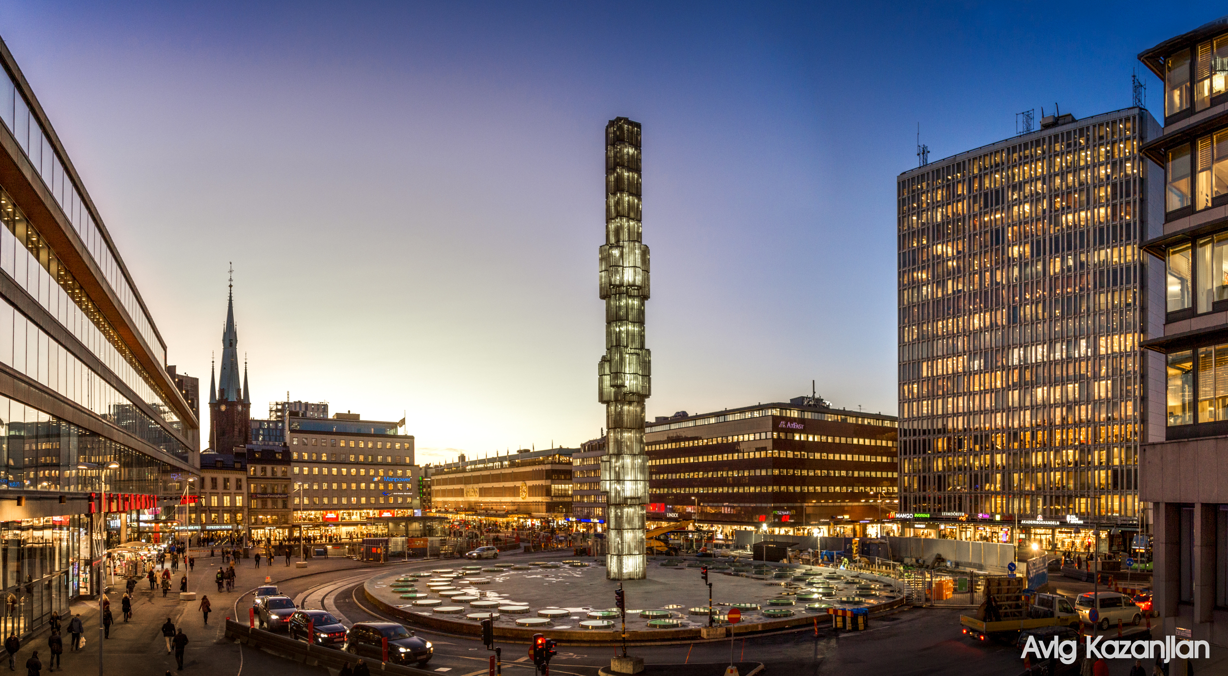 Stockholm Centrum city avigphoto photographer