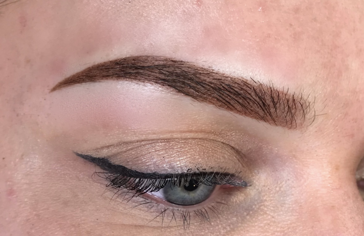 OMBRE BROWS | These beauties will heal to look like brow makeup/brow tint.