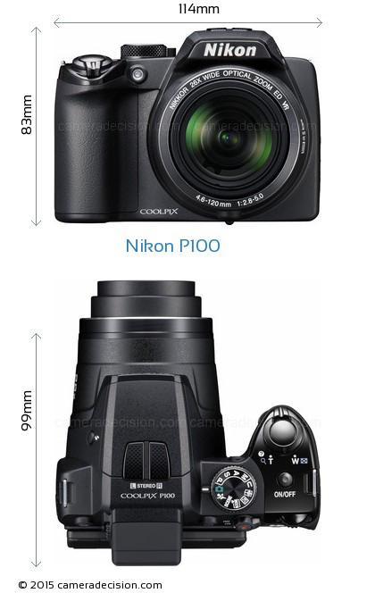 Nikon Coolpix P100 10.3 Mp Digital Camera