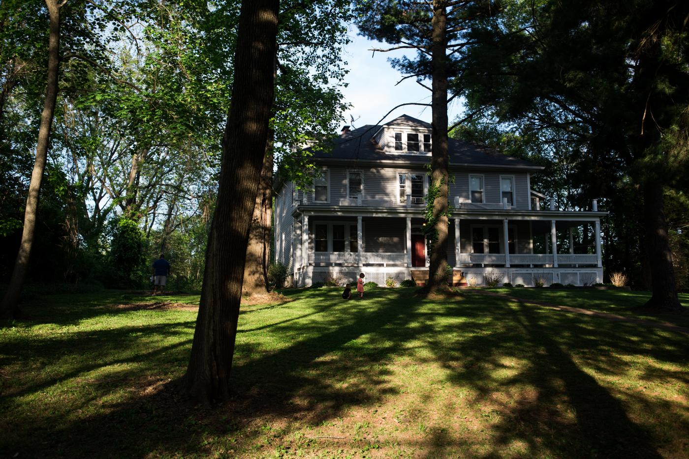 An historic house in the Old Ferguson West neighborhood.