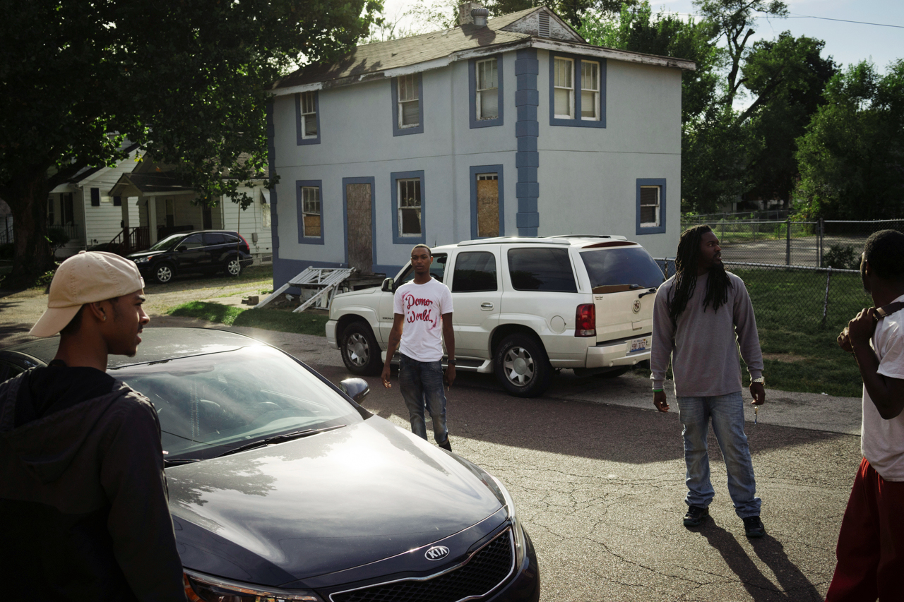 Ferguson shooting the day before Darnell's funeral.