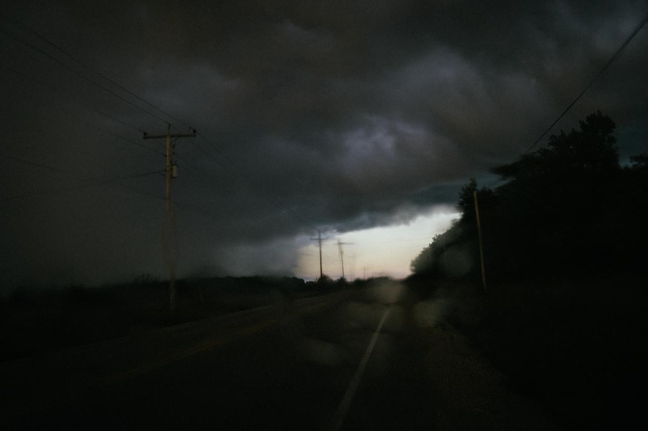 Photos of weather and scenes around Door County.