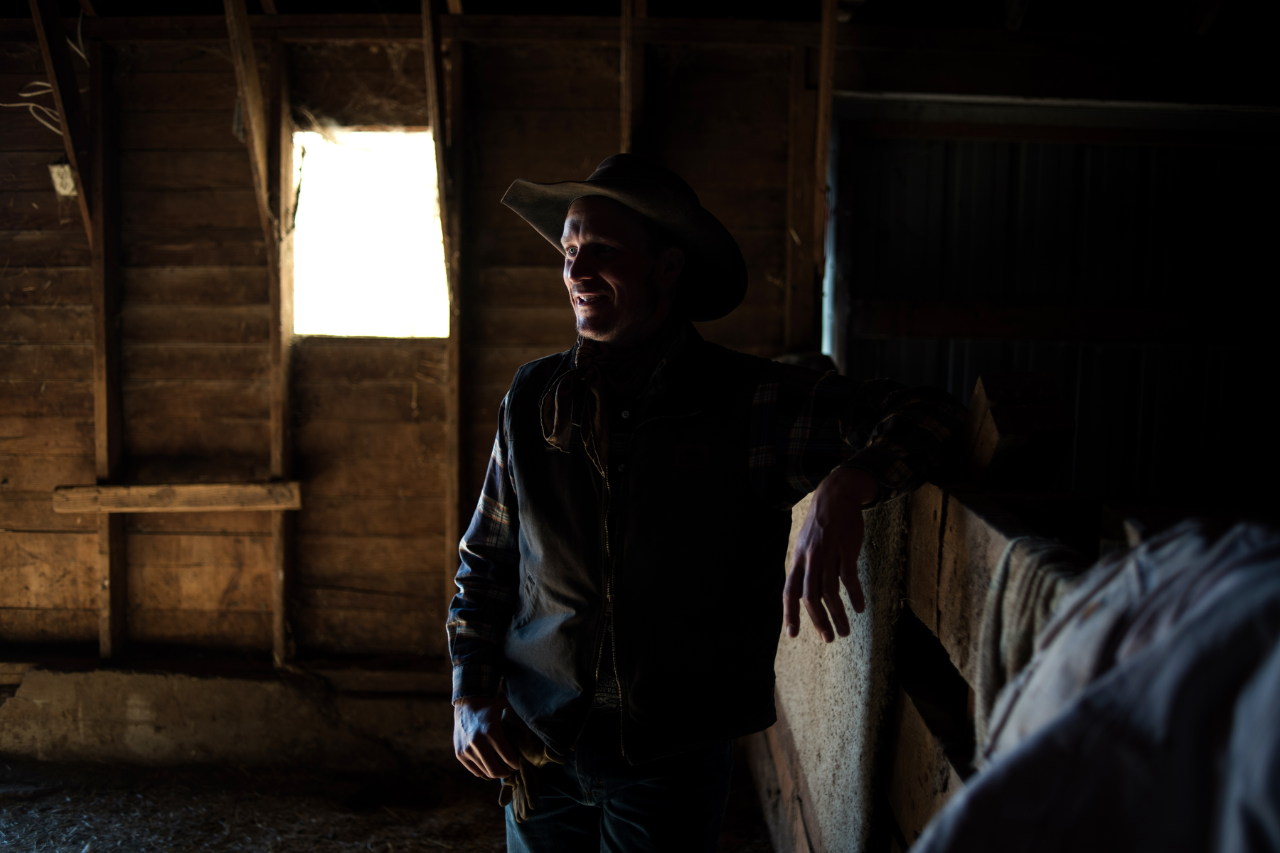 Riley Cihak, hired man, South Dakota, 2018.