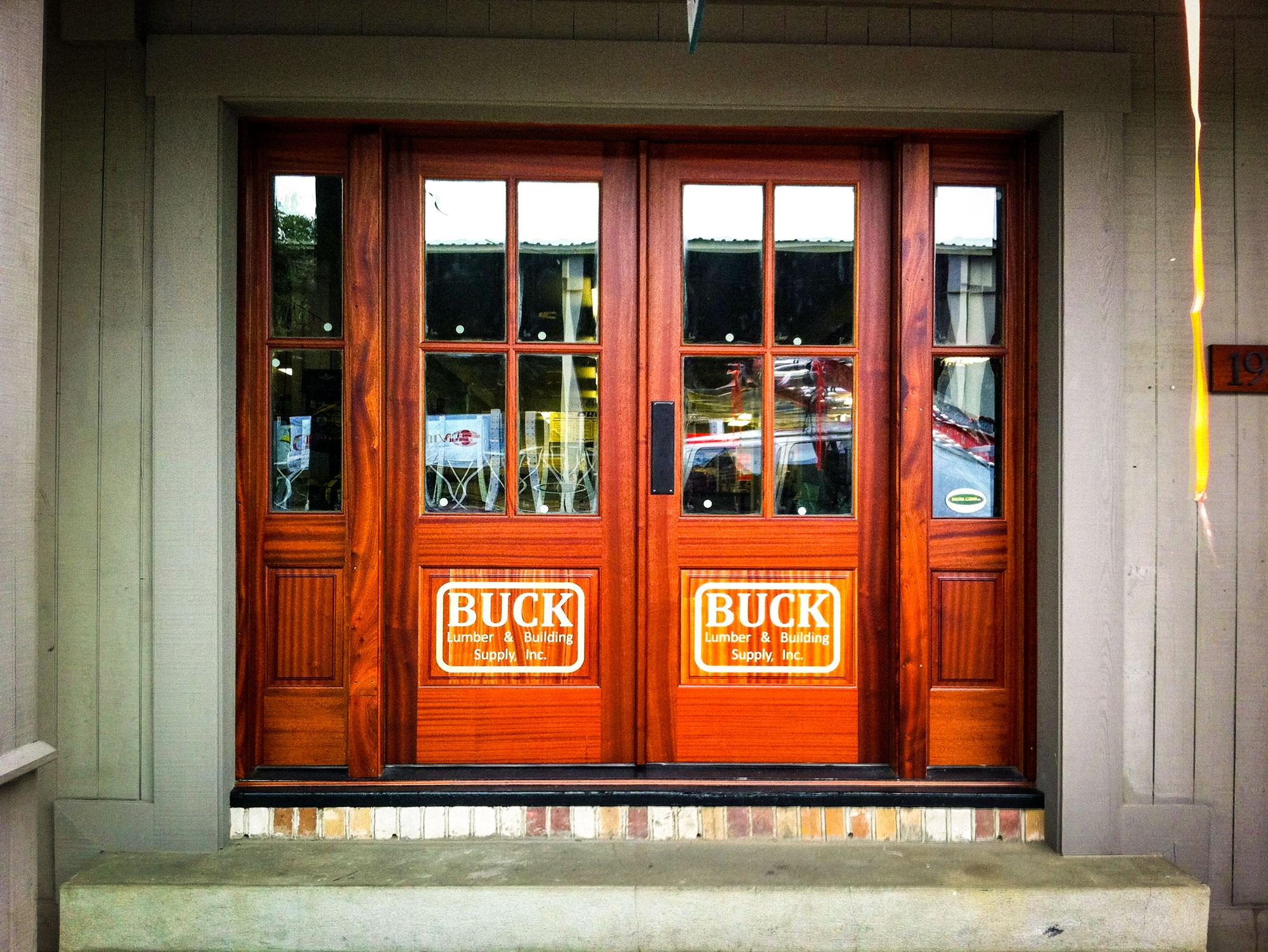 Buck Lumber Doors