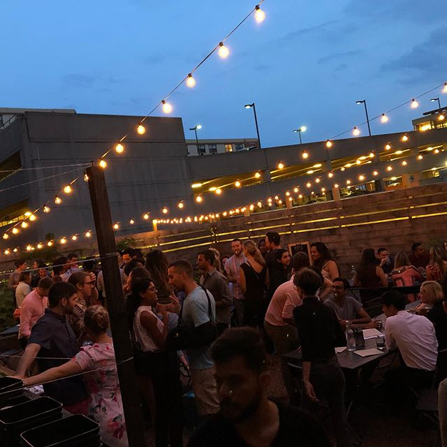Everyone loves bocce & cooler nights.  #nhv #inwiththeoutside #avantgarden #summer #barfeatures #boccegarden #happyhournhv #cocktailnhv