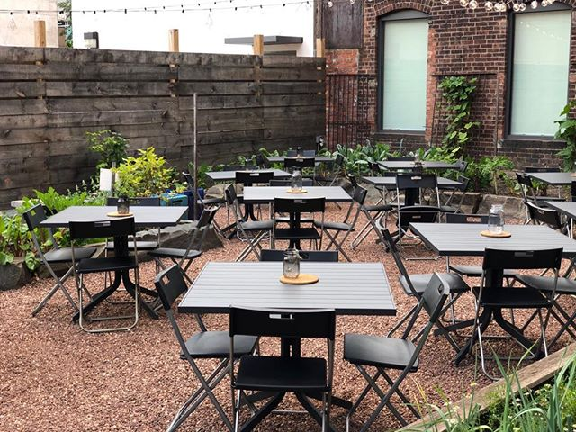 We're waiting for you. Happy Hour all night and perfect weather for bocce.  #nhv #inwiththeoutside #avantgarden #summer #barfeatures #boccegarden #happyhournhv #cocktailnhv