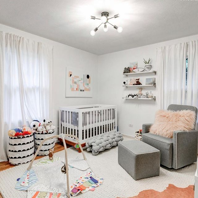 Nursery's our one of our favorite design projects.