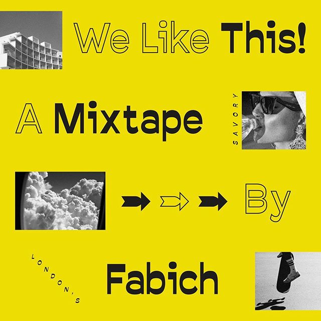 ‪New mixtape from old friend @FabichMusic 👉 get good for the weekend. Link in bio ✌️
