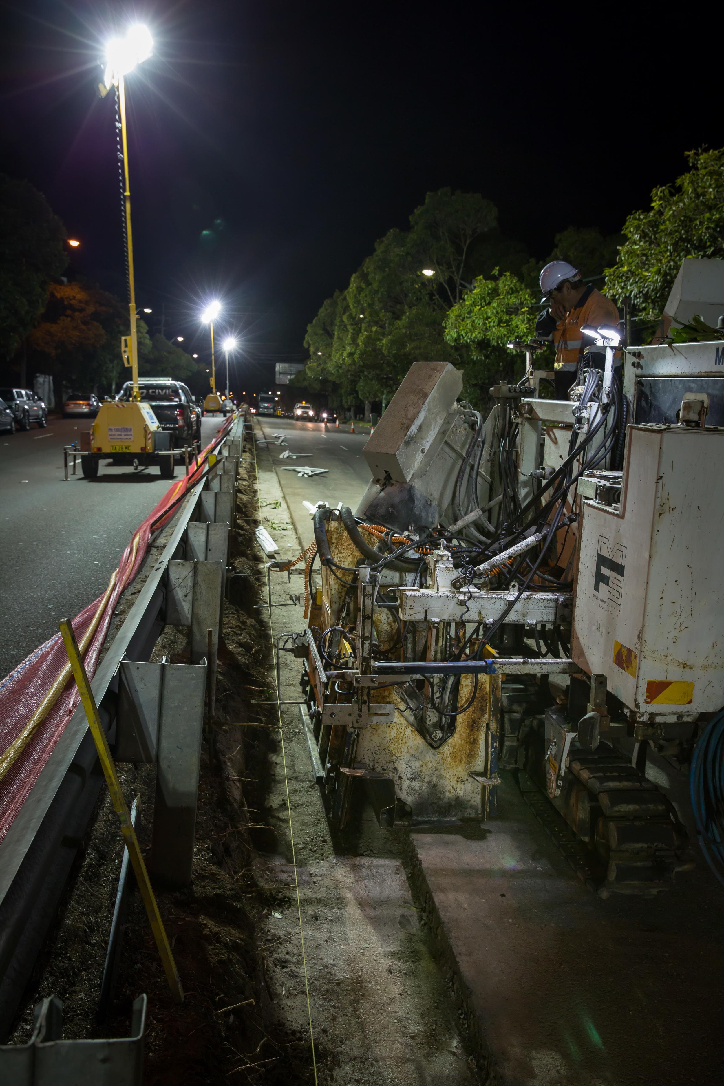 sydney roadwork contractor-sd civil