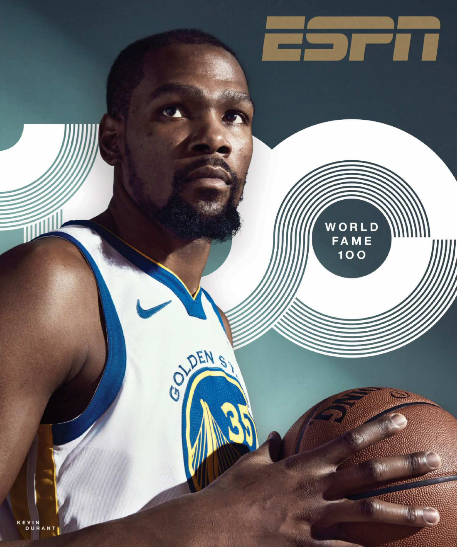 ESPN Magazine - Kevin Durant