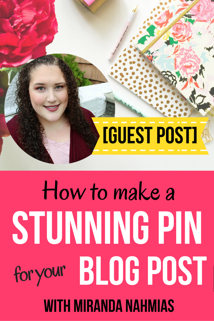 Today, I'm going to teach you exactly how to create awesome pins for your blog posts by following the basic rules of graphic design and making use of the free program  Canva .