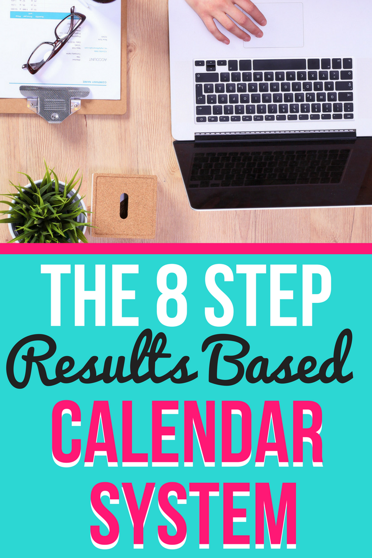How to Get it ALL Done: My Secret to having a Business AND a Life   The 8 step results based calendar system that I use to plan my business and personal life   Blogging   Planning