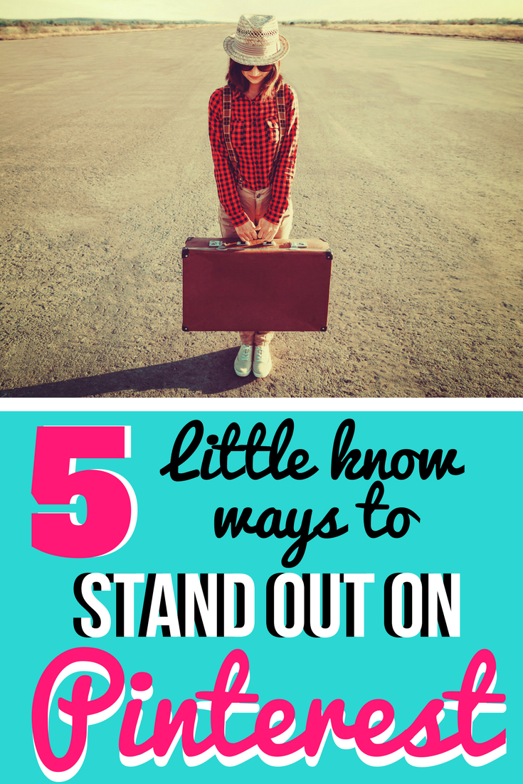 The Top 5 Little Known Ways to STAND OUT on Pinterest   Not sure what you should be doing on Pinterest to gain followers and increase recognition of your biz and brand? We've got you covered with the top 5 (little known) tips on how to increase your visibility on Pinterest!