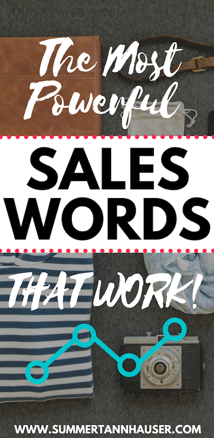 Say Yes Sales Strategies! This week's sales tip for online entrepreneurs is all about the most powerful sales words that work. Can you guess what the #1 sales word is? You'll find the answer and more in this blog post!