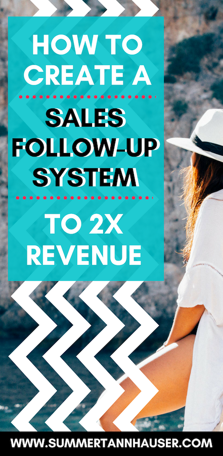 "Say Yes Sales Strategies! This week's sales tip for online entrepreneurs is all about creating a sales follow up system. Using these sales follow up tips is one of the surest ways to turn an initial ""no"" into a ""yes"" in the future. Learn how in this blog post! #sales #entrepreneurs"