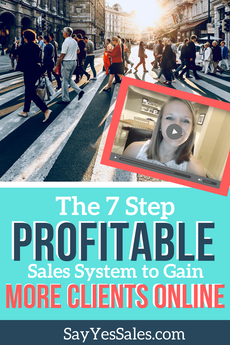 Say Yes Sales Strategies! This week's sales tip for online entrepreneurs is all about creating a profitable sales system. By implementing these 7 steps of the sales experience, you'll close more clients and sell more offers than ever before. Learn how in this blog post.