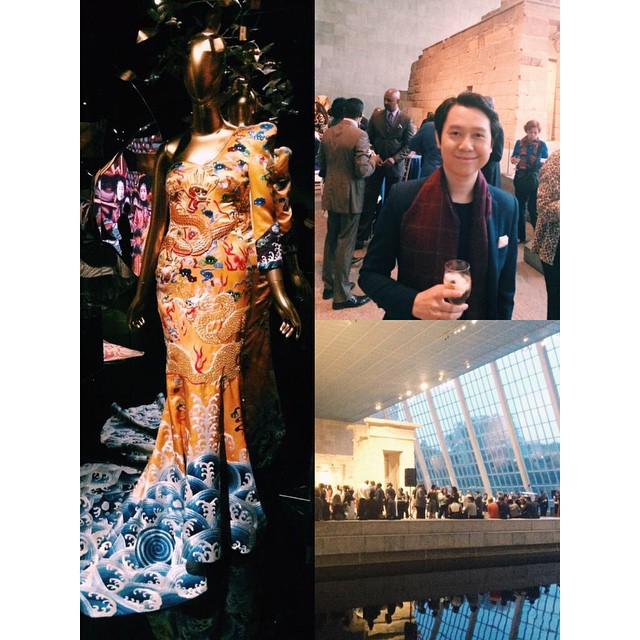 Snuck out and had some fun at the China Through the Looking Glass reception @metmuseum. Last chance to see it - September 7th.