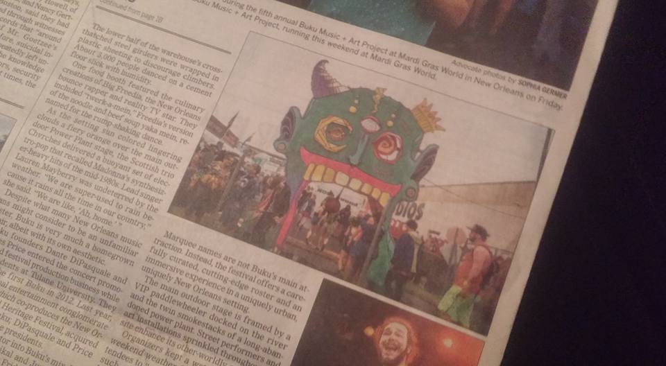 New Orleans Advocate, 3/12/16