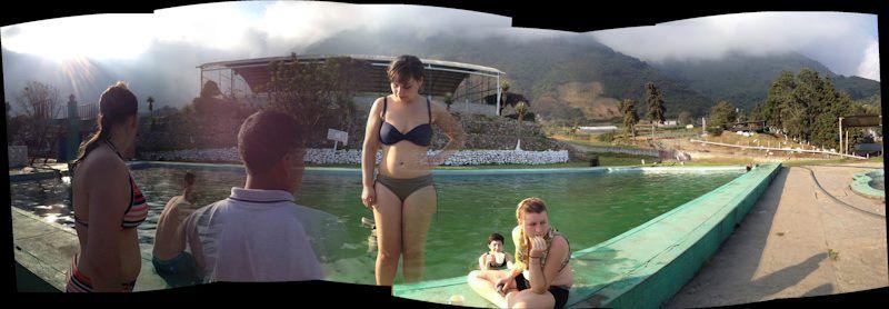 Hot springs, near Quetzaltenango, Guatemala
