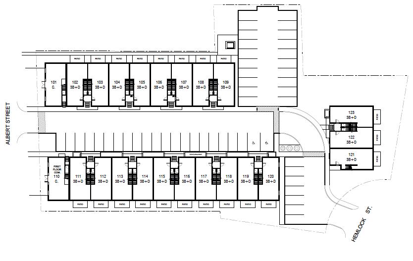Ivy Towns III Floor Plate