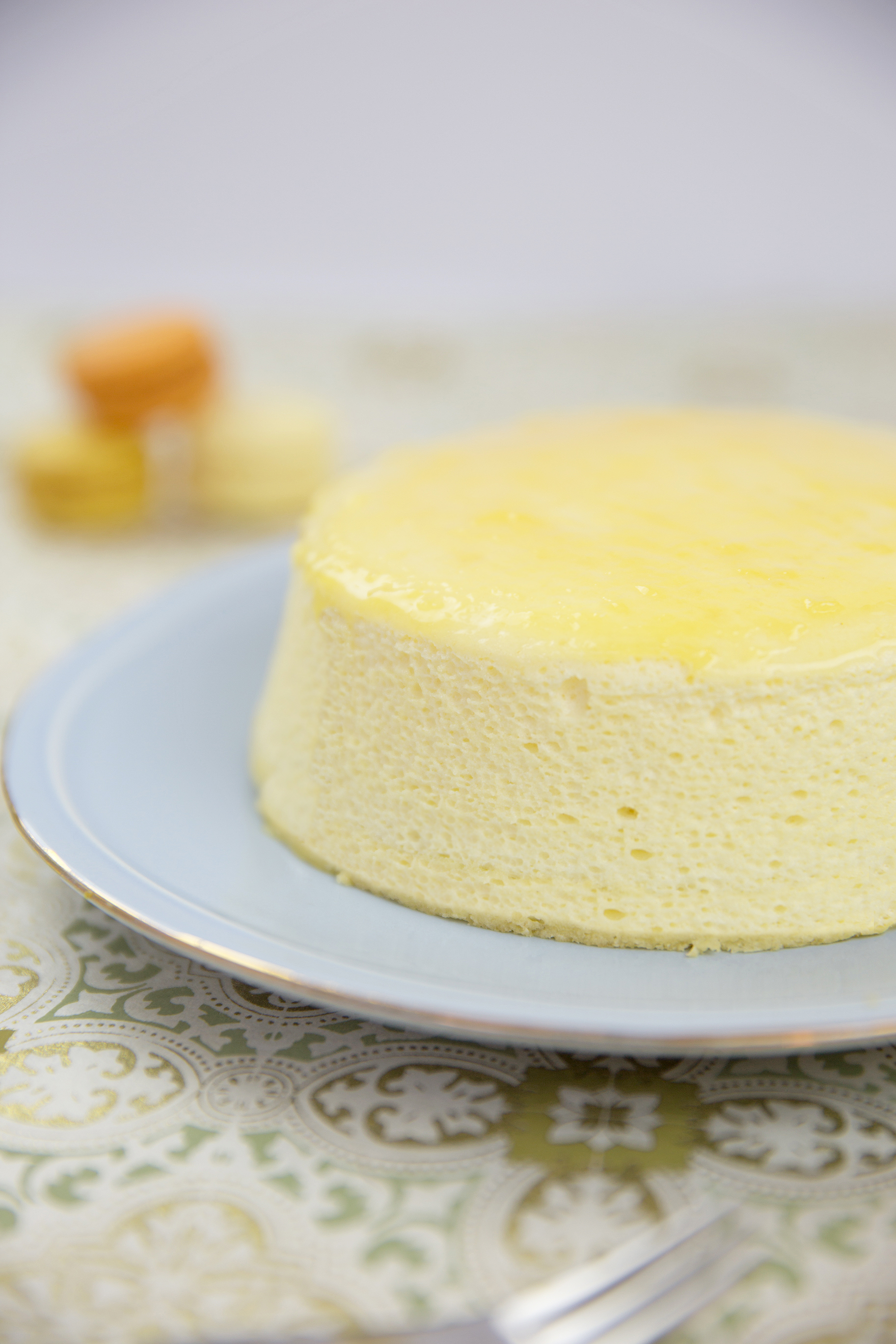 Japanese Soft Cheesecake by Peggy's Kitchen