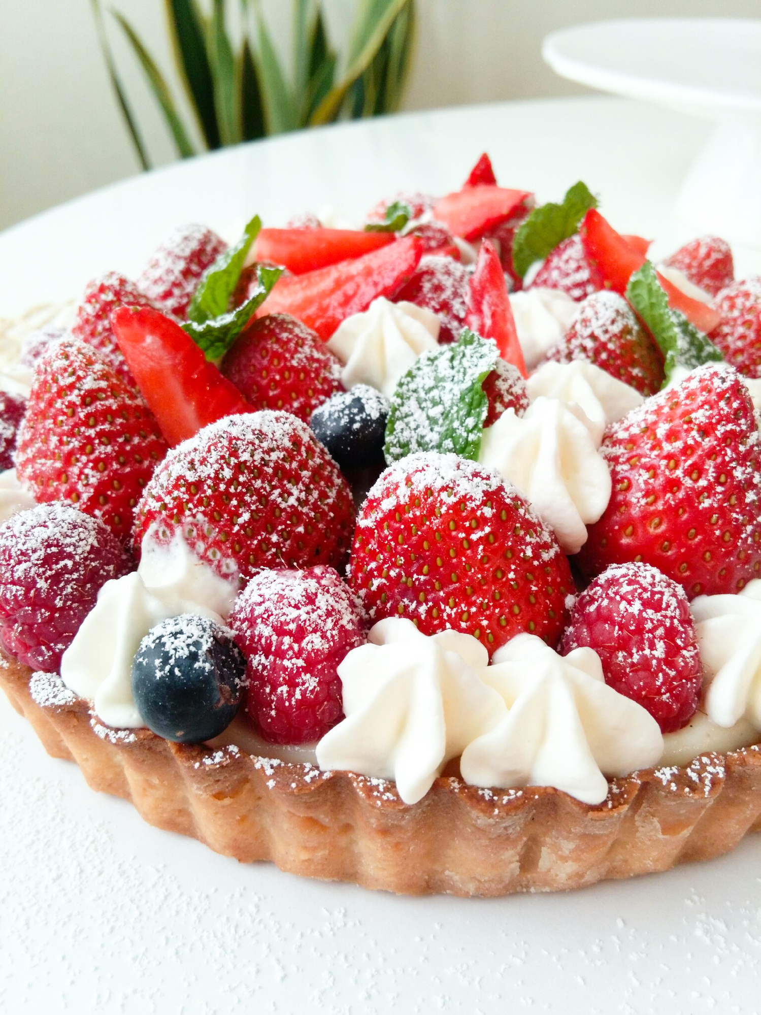 Fruit Tart by Peggy's Kitchen