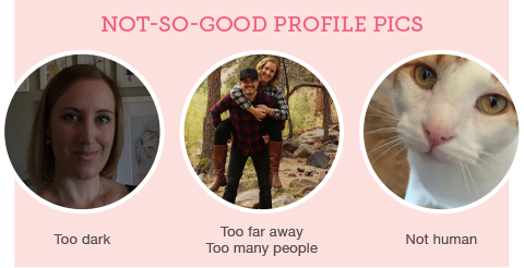 example of bad profile pics