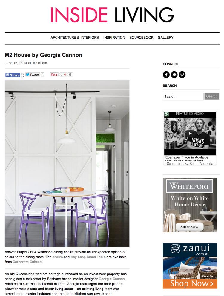 Georgia Cannon Interior Design, interior designer, Brisbane, Australia