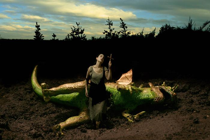 Santa Margarita, 2007. Print by Margarita Dittborn Valle. Image:  TWFineArt