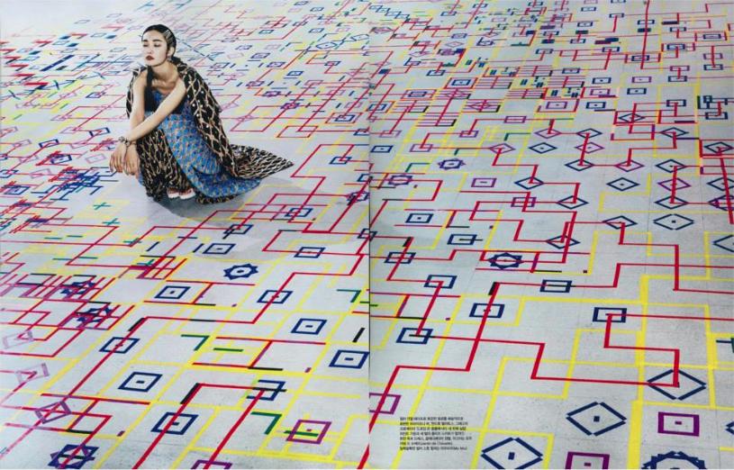 Experiment 4.1, 2013. Briony Barr. Image: Vogue Korea, December 2013