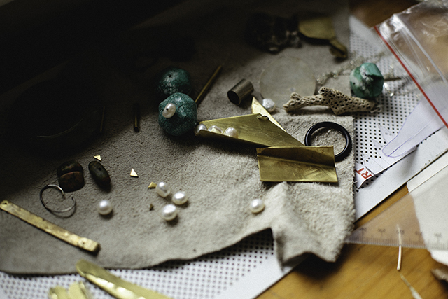 A beautiful little collection of bits and pieces in the workshop. Photo:  Andrea Jankovic
