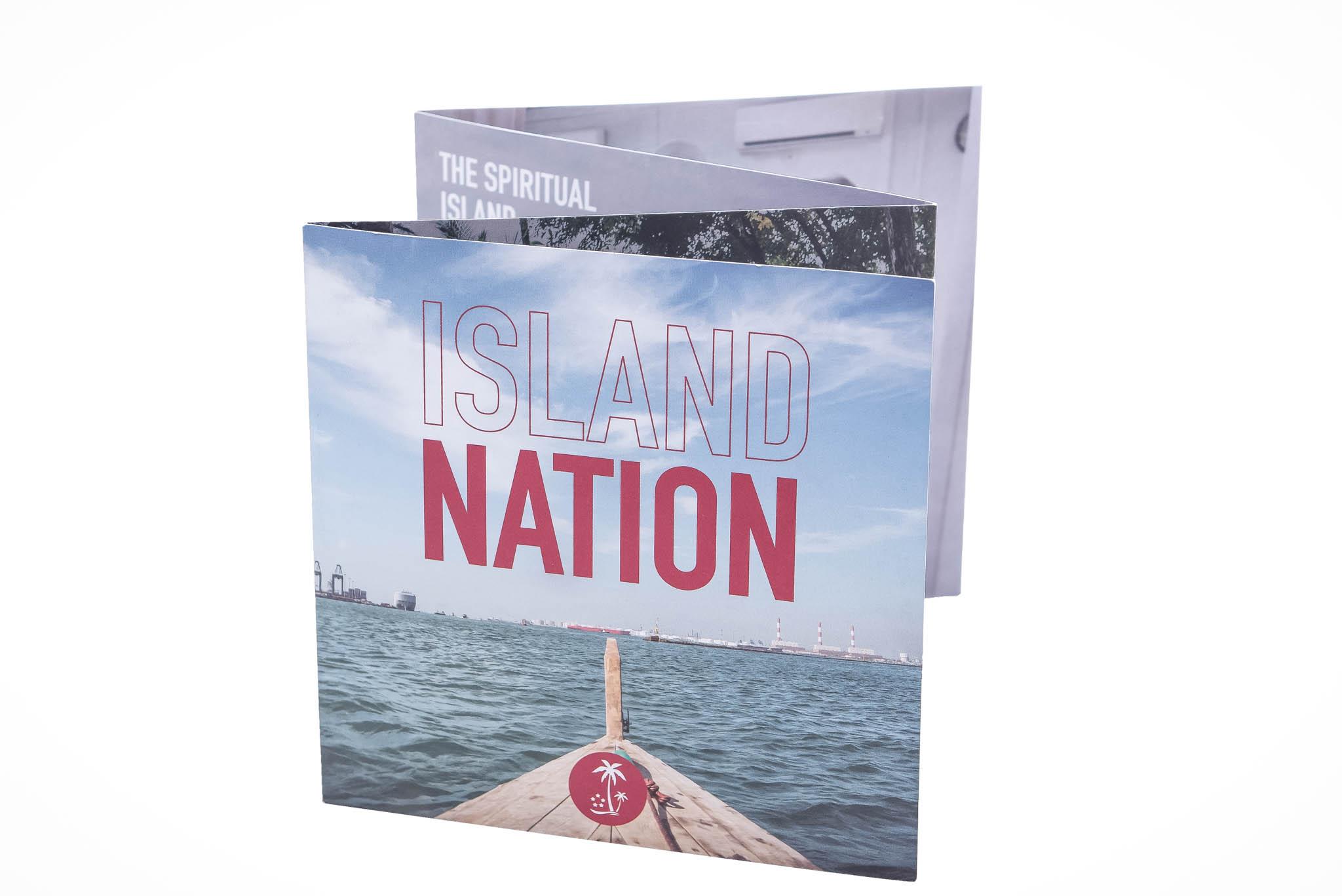 ISLAND NATION: Exhibition brochure
