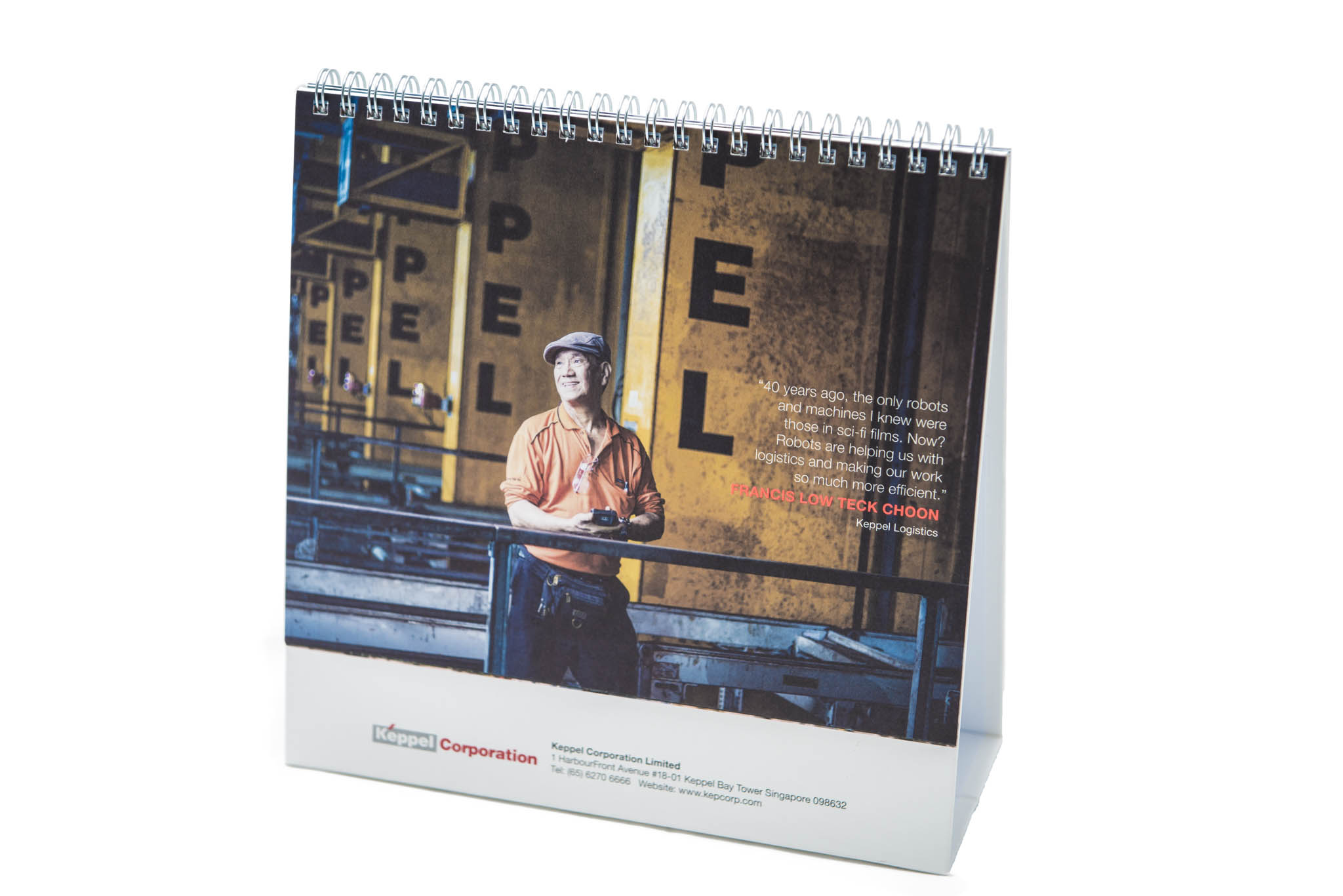 PEOPLE OF KEPPEL: Calendar 2016