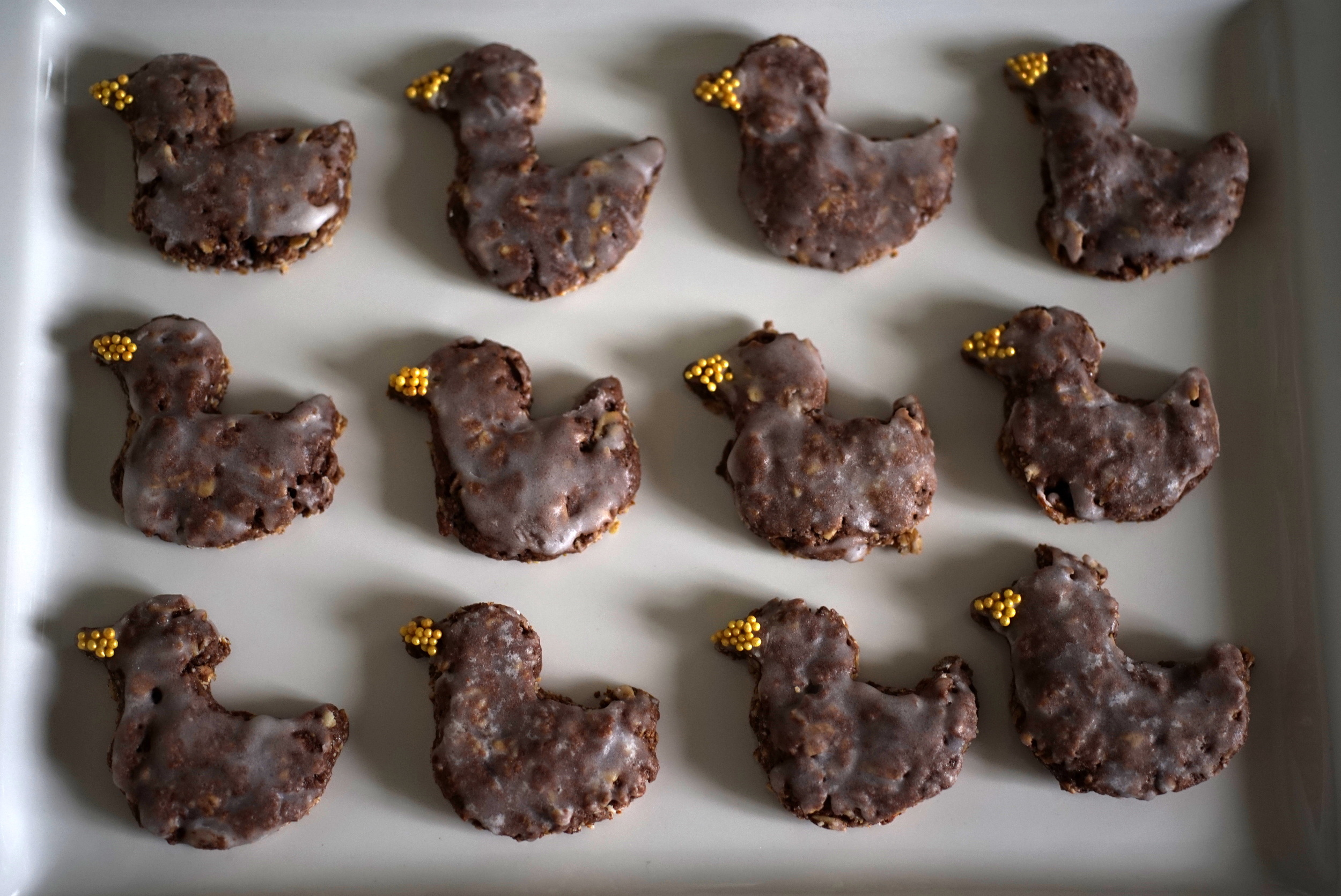Grosi's Chocolate Oat Cookies