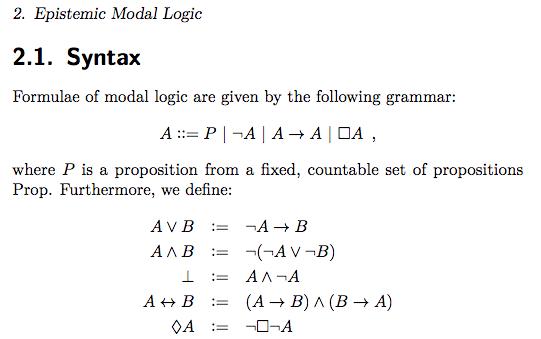 English grammar, yes. Mathematical grammar, ???