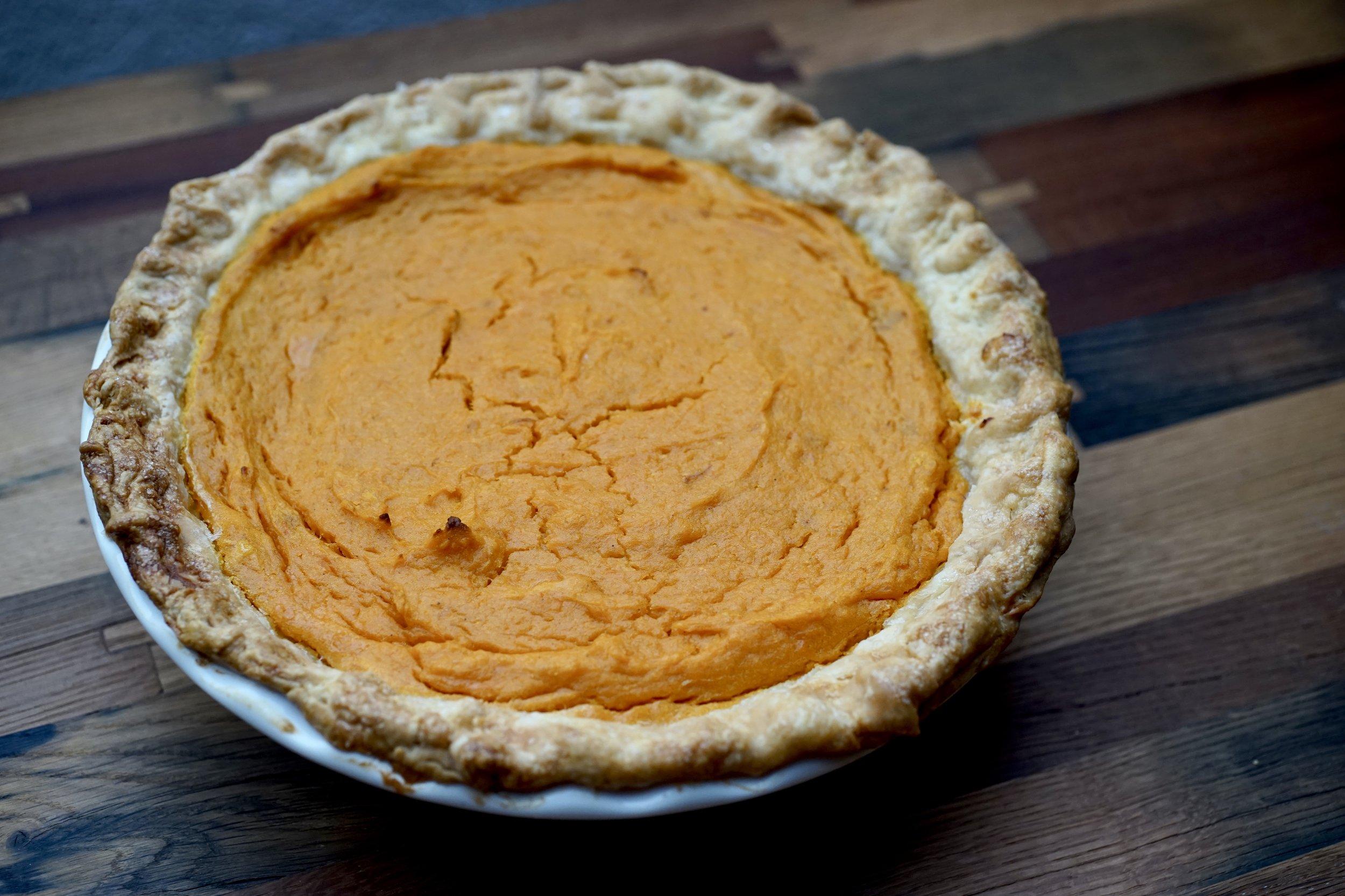 bernese pumpkin pie