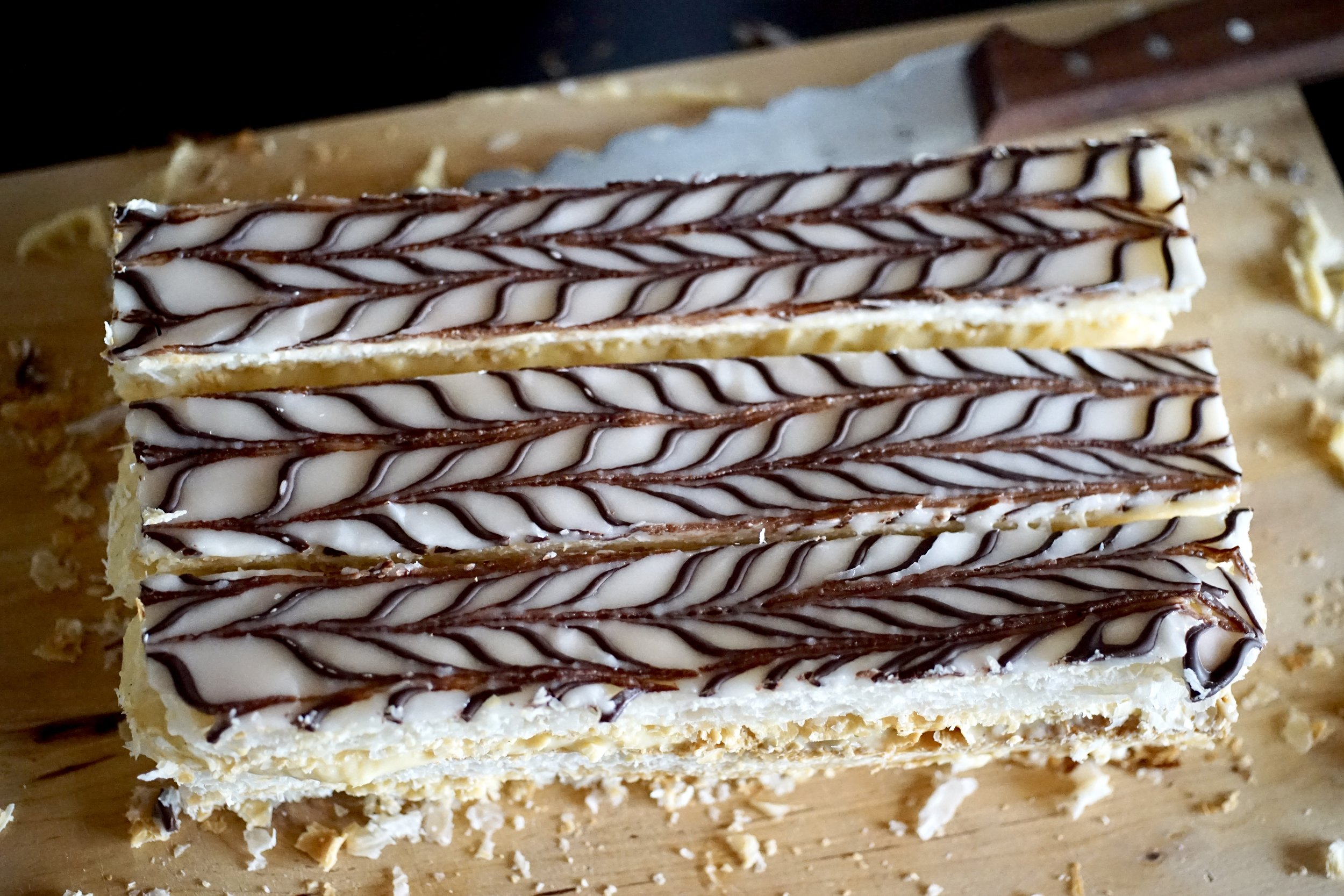 Want more Swiss pastry in your life? - Cremeschnitte