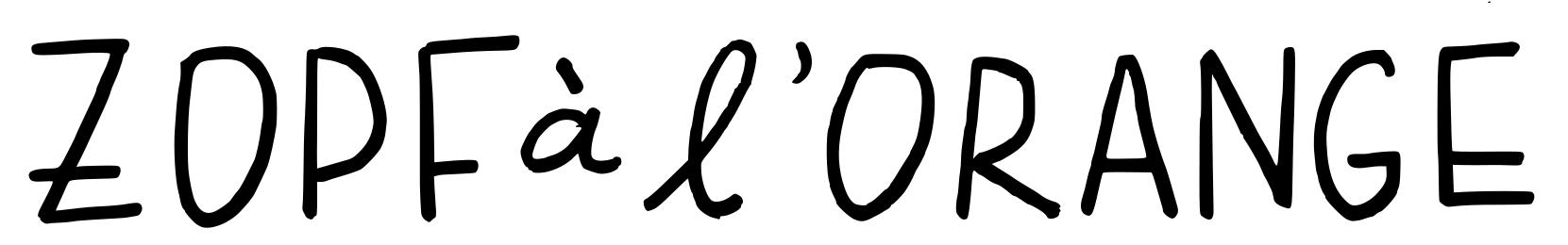 zopf a lorange