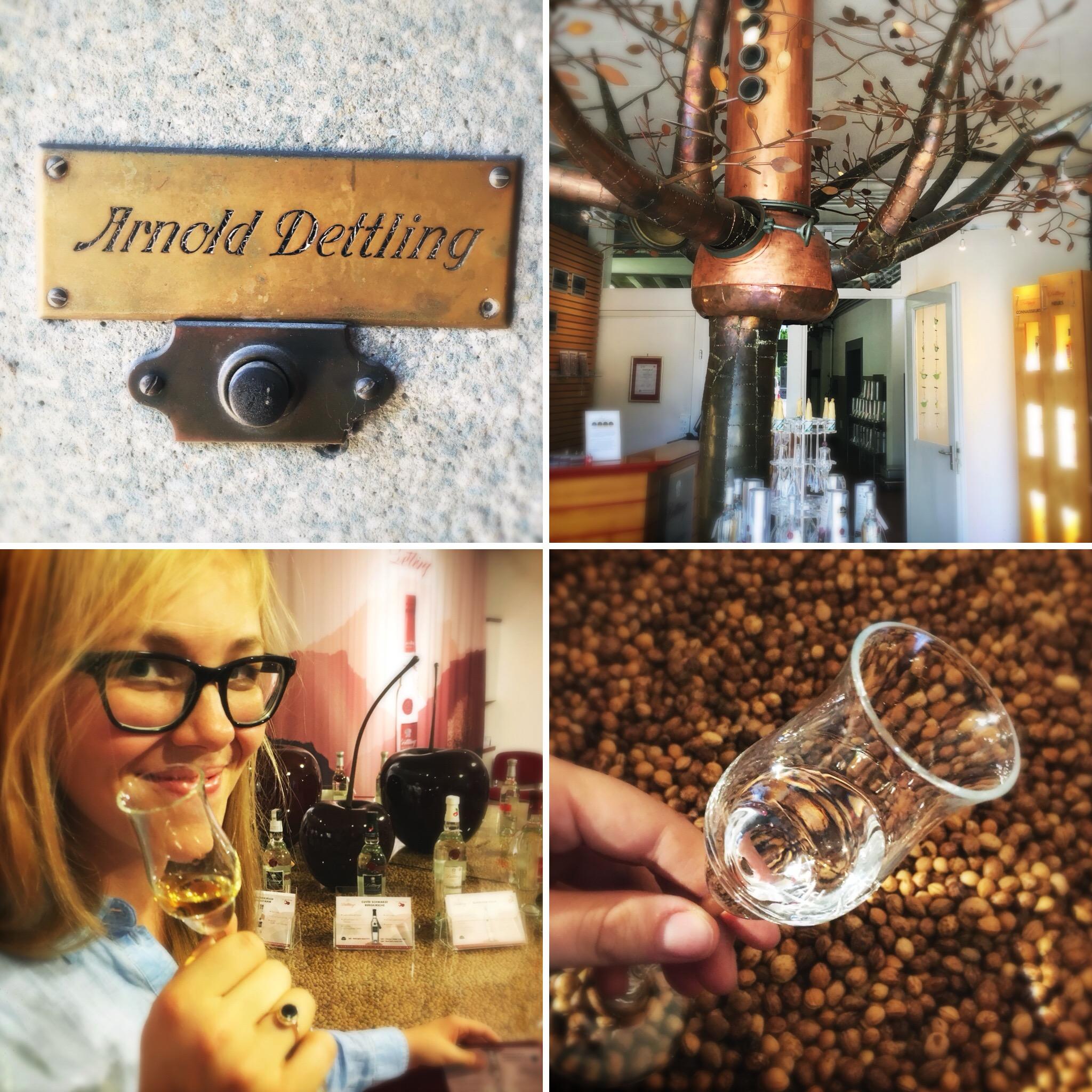 My visit to Dettling, a kirsch distillery -
