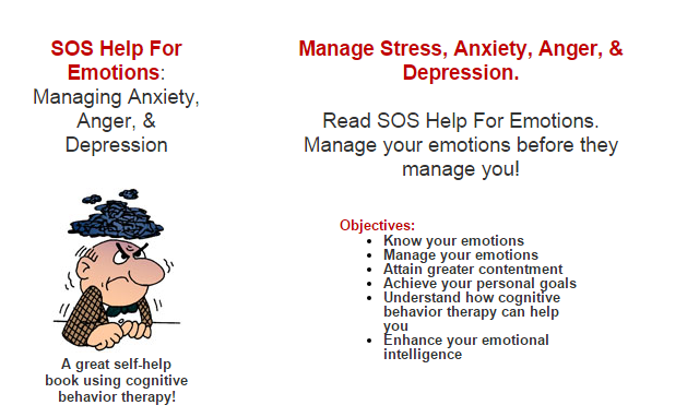 DSM disorders and problems are helped by sos help for emotions and sos programs.